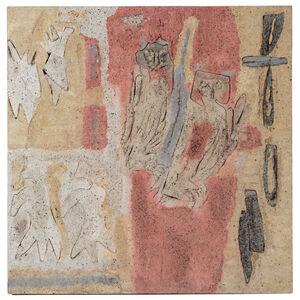 Siri Derkert, 'Ugglorna/Senapsträdet och himlens fåglar', 1961