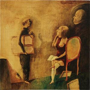 Benjamín Cañas, 'The Critics', 1977