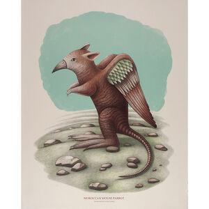 Beauvais Lyons, 'Ornithological Quadrupeds: Moroccan Mouse Parrot', 2013