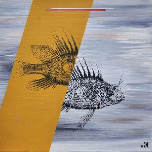 Krayon, 'Fishes n°6', 2018