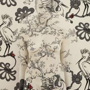 Emma Hack, 'Cranes Mandala III – Wallpaper Mandala', 2010