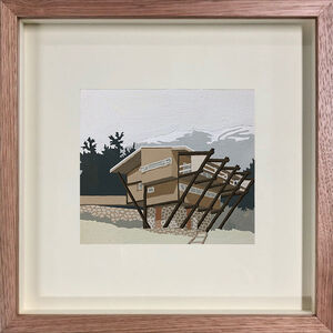 Eliza Gosse, 'Seidler Lodge', 2019