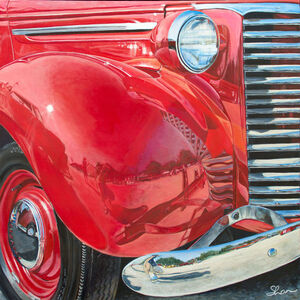 Shannon Fannin, '1939 Chevrolet Truck', 2018
