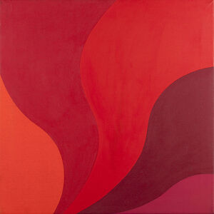 Michael Michaeledes, 'Red Variations', 1967