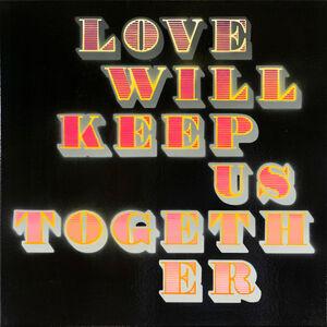 Ben Eine, 'Love Will Keep Us Together (Pink) (Black Gloss)', 2018
