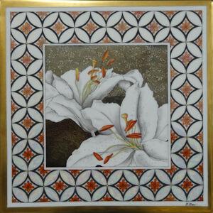 Paola Bari, 'White Lillies', 2018