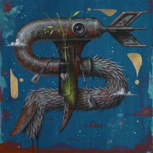 Johnny Rodriguez (KMNDZ), 'Odd Bird and Arrows', 2019