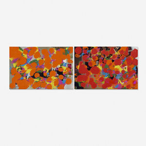 Richmond Burton, 'Drawing Studio and Studio 2 (two works)', 1992