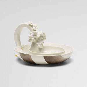 Nymphenburg Porcelain Manufactory, 'Winter candle holder', 2007