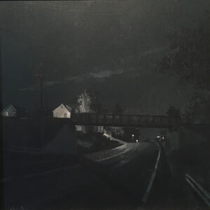 Linden Frederick, 'SOUTHBOUND, Monochromatic Study', 2014