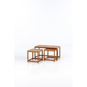 Kurt Østervig, 'Set of three nesting tables', circa 1960
