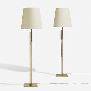 Svend Aage Holm Sørensen, 'Floor lamps, pair', c. 1970