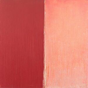 Pat Steir, 'Red and White Six by Six', 2012/2017