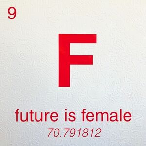 Cayla Birk., 'Periodic Table of Relevance Series: FUTURE IS FEMALE', 2018