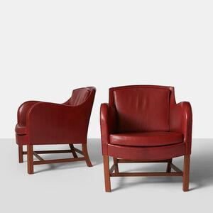 Kaare Klint, 'Pair of Kaare Klint Mix Chairs', 1990-1995