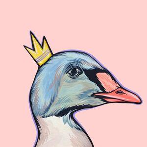 Kaitlin Ziesmer, 'Mighty Ducks: Purple Crown', 2019