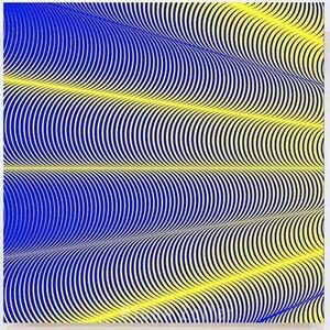 John Zoller, 'John Zoller, Cosmic Galactic Yellow Rays', 2018