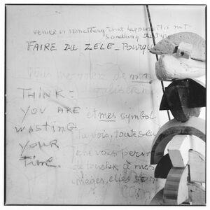 Jean-François Jaussaud, 'Louise Bourgeois, New York, 20th St.:Faire du Zèle', 1996