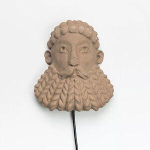 Morehshin Allahyari, 'South Ivan Human Heads: Bearded River God', 2017
