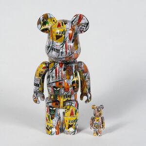 Jean-Michel Basquiat, 'Bearbrick 100% & 400%', 2017