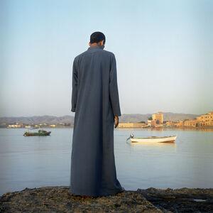Denis Dailleux, 'Homme regardant la mer Rouge à el Qoseir', 2003