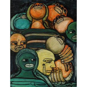 Malangatana Ngwenya, 'Untitled', 1971