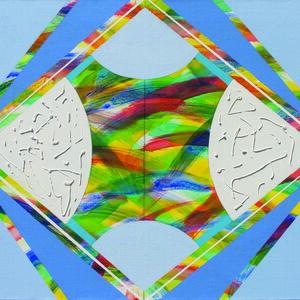 Yoko Mitsuyuki, 'Rainbow Sky B', 2019