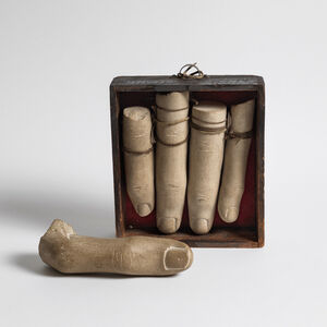 Gonzalo Fonseca, 'Five Fingers in a Box', 1987