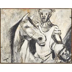 Bernard Lorjou, 'Untitled (Man with Horse)'