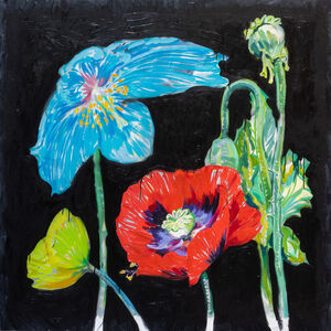 Rafael Yaluff, 'Poppies', 2019
