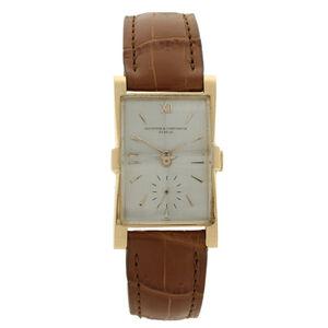 Vacheron & Constantin, '18ct rose gold Tegola wristwatch.', ca. 1950