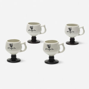 Caribe China, 'Coffee cups, set of four', c. 1965