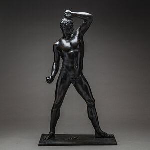 Antonio Canova, 'Bronze Sculpture Of An Athlete', 1792