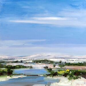 Simon Andrew, 'Snow Covered Hills', 2017
