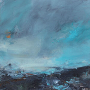 Janette Kerr, 'Dancing into the blue ', 2018
