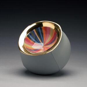 Peter Pincus, 'Grey Bowl', 2019