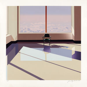 John Register, 'Waiting Room for the Beyond', 1988