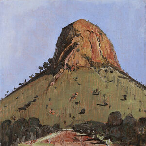 John Kelly (b.1965), 'Round Hill, Road to Haastbluff', 2015