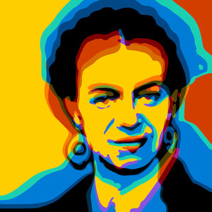 Troy Gua, 'Los Pintores ( Frida Kahlo + Diego Rivera )'