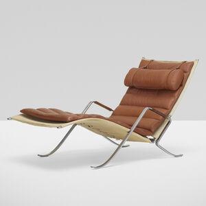 Preben Fabricius, 'Grasshopper chaise lounge', c. 1968