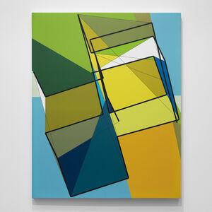 Manfred Mohr, 'P-701_B1', 2000
