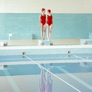 Maria Svarbova, 'Swimming Trinity Duo ', 2016