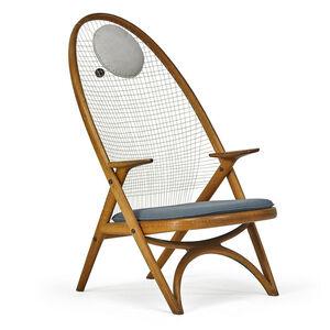 Helge Vestergaard Jensen, 'Racket chair, Denmark', des. 1950s