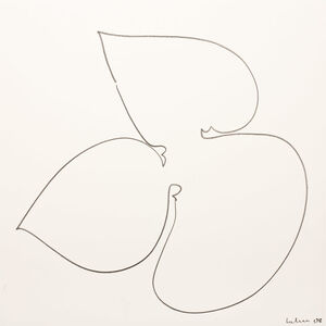 Dietrich Helms, 'Umriß 68', 2008