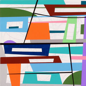 Gary Petersen, 'Square Off #4', 2018