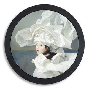 Zeng Chuanxing, 'White Paper Bride - Singing', 2013