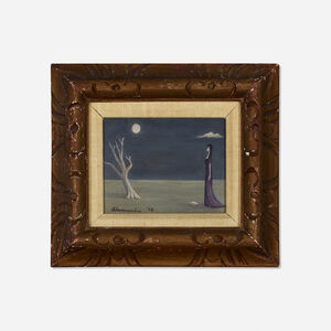 Gertrude Abercrombie, 'Untitled (Woman and Tree)', 1948