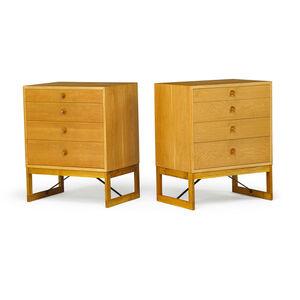 Börge Mogensen, 'Pair of dressers, Sweden', 1950s