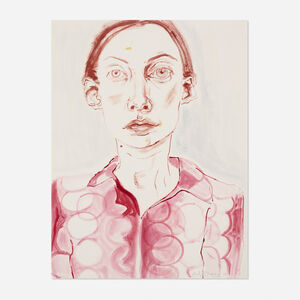 Anh Duong, 'Drawing Self-Portrait with Prada Shirt', 2003