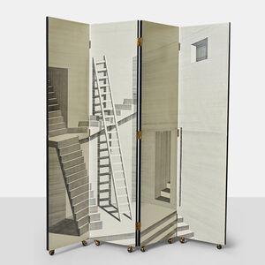 """Piero Fornasetti, '""""Scaletta"""" Folding Screen by Piero Fornasetti', ca. 2001"""